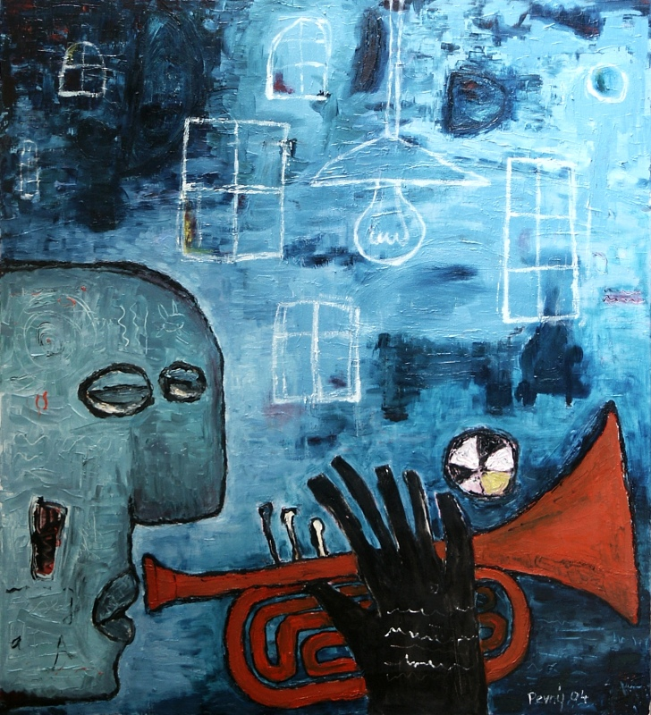 Červená trubka / Red trumpet